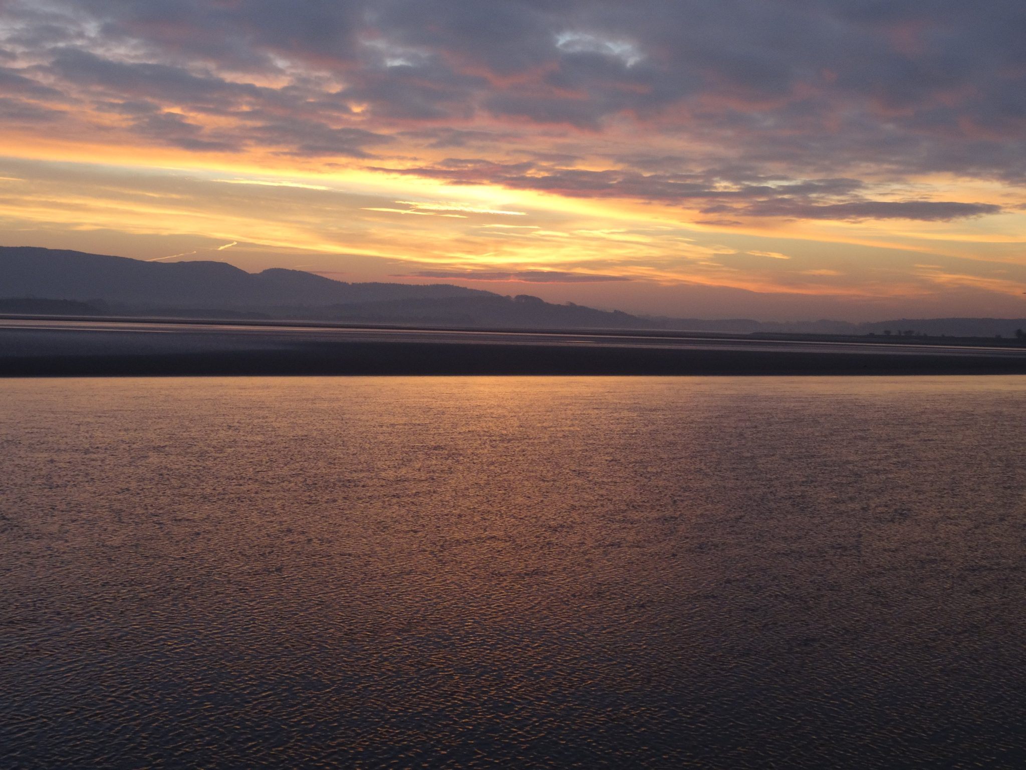 A Colourful Morecambe Bay Sunrise