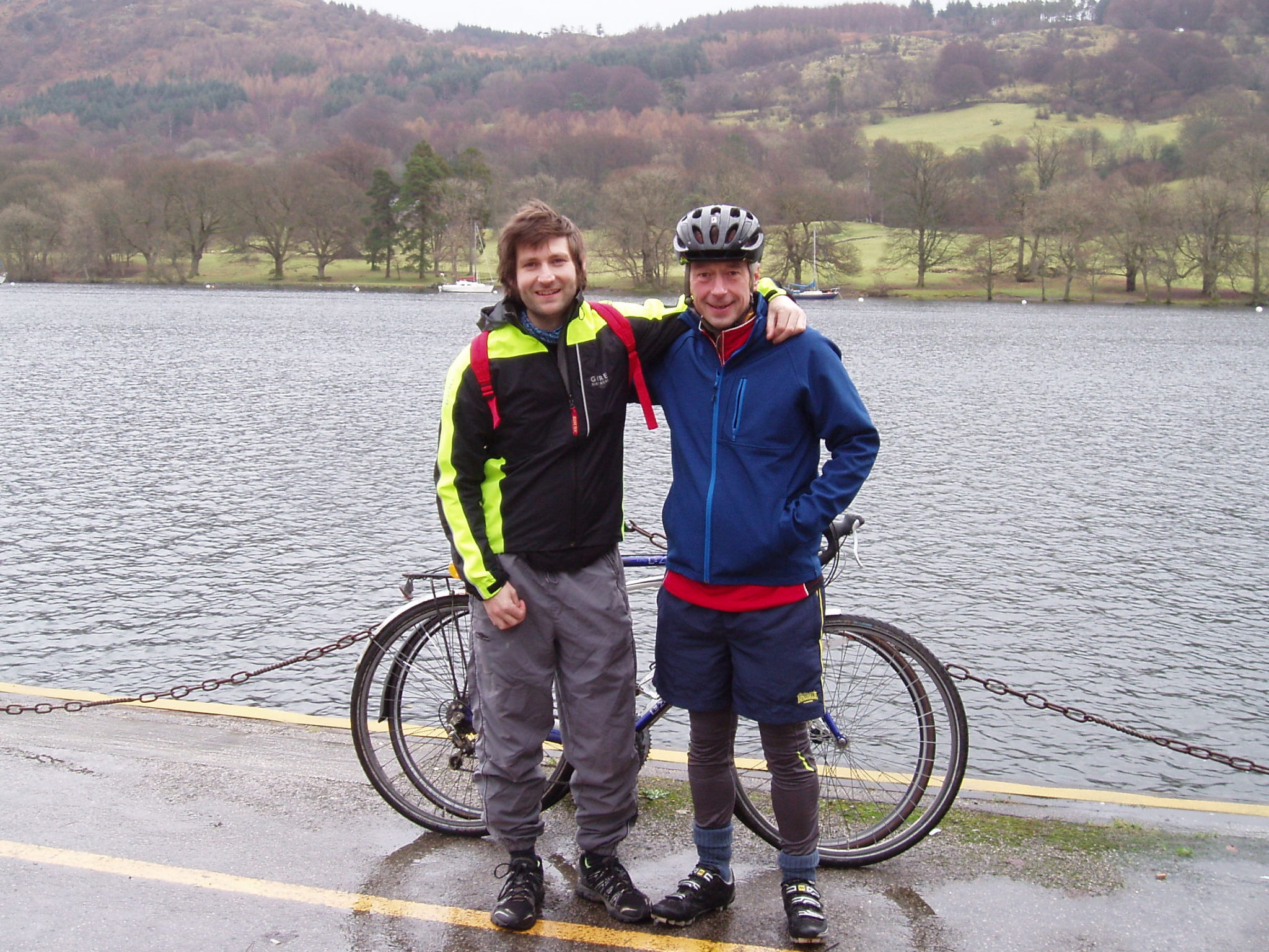 New Year cycling in Cumbria