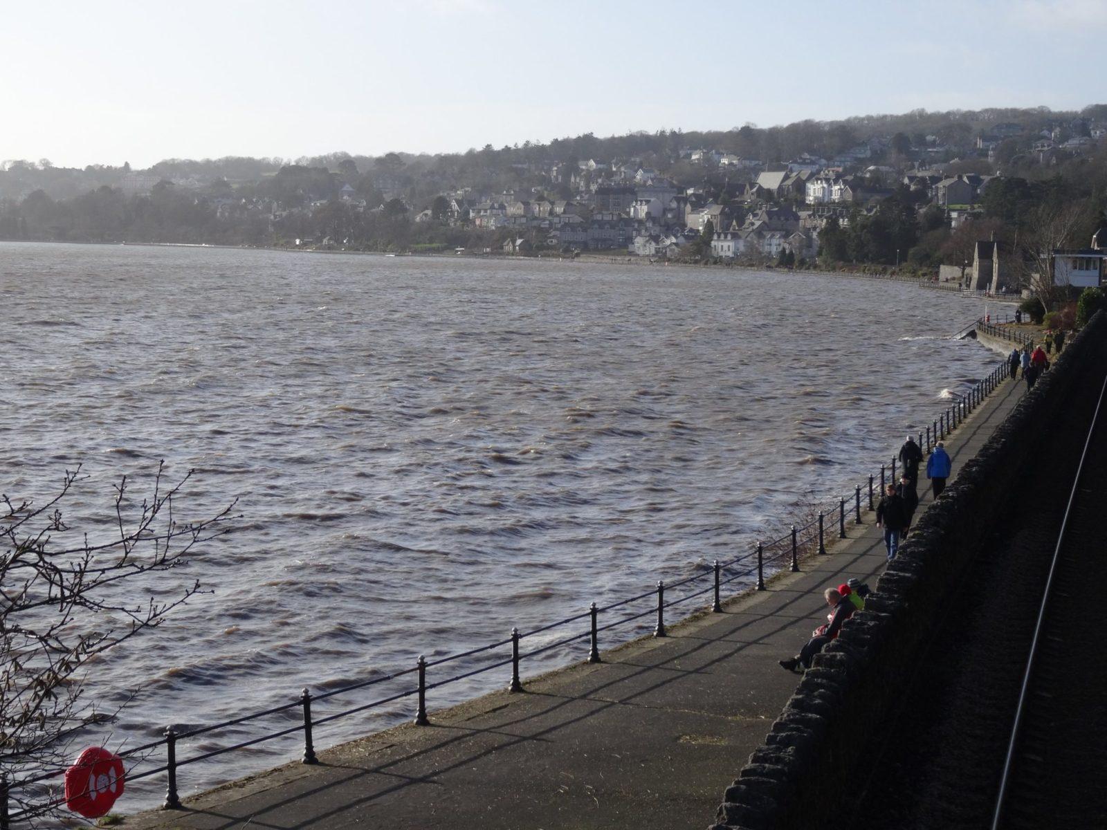 High Tide In Grange February 2nd