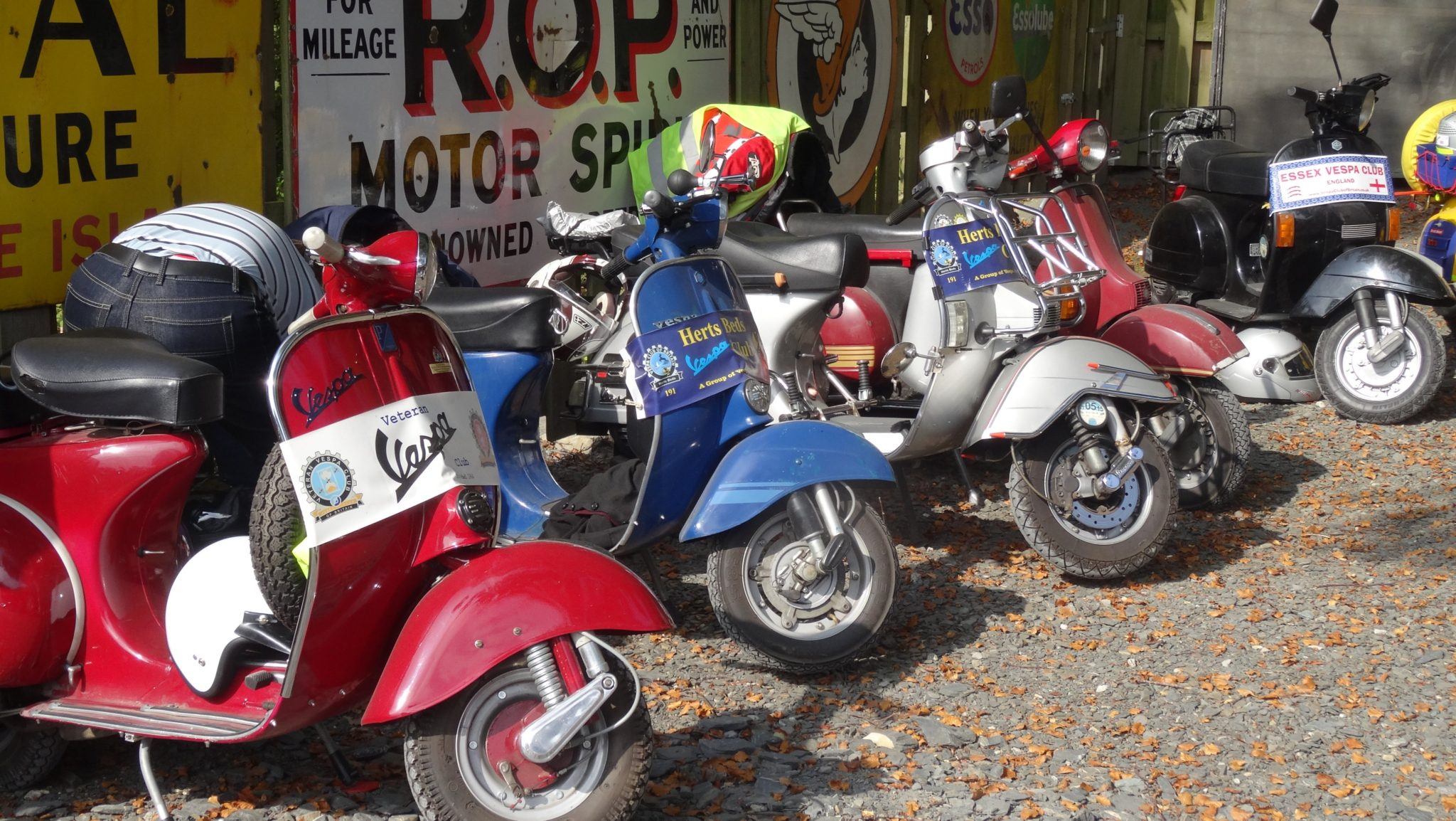 Vespa Scooter Rally