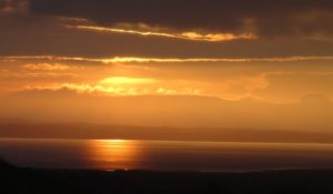Morecambe Bay Sunrise