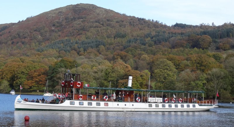 Windermere's Oldest Steamer