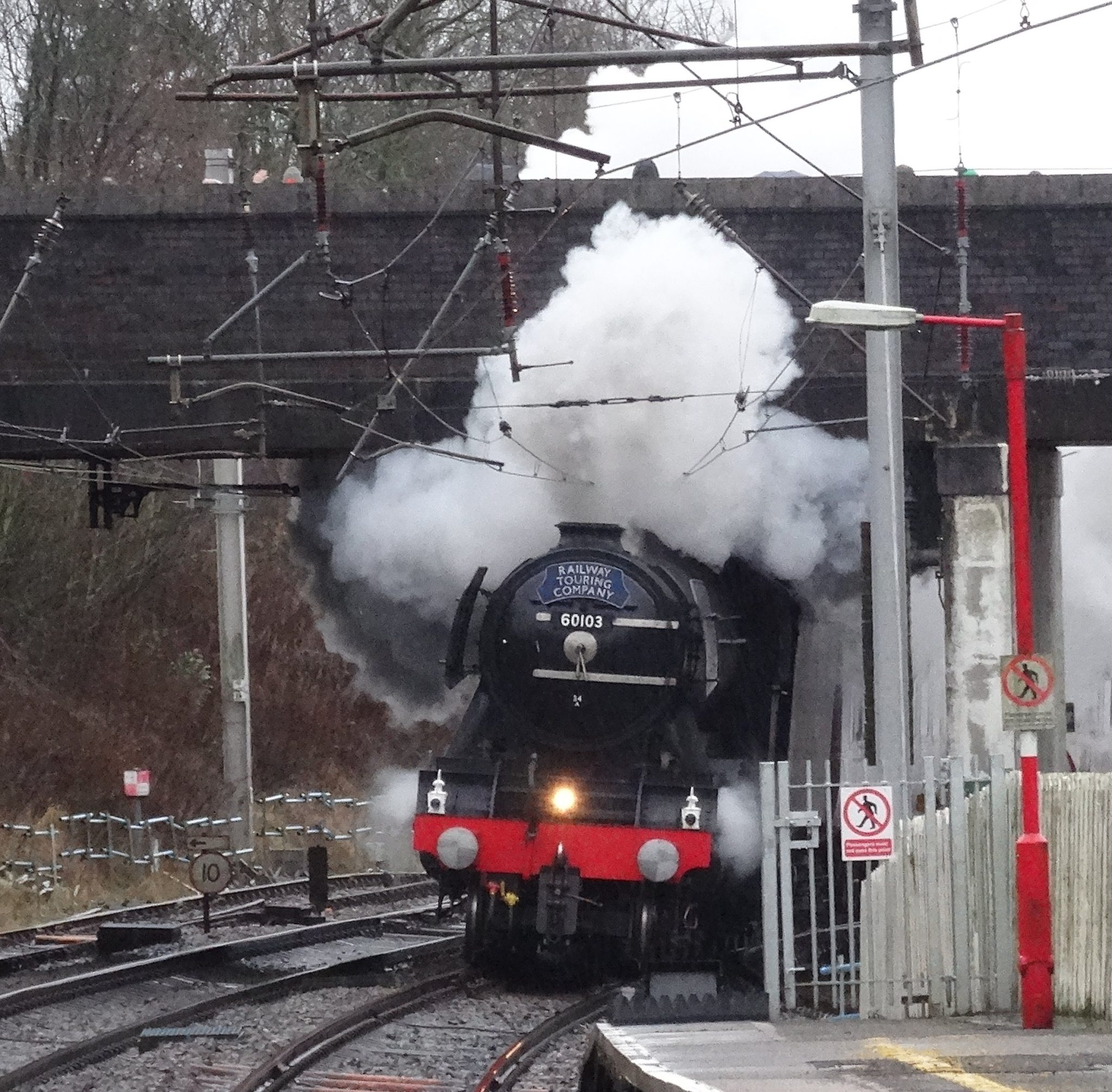 Flying Scotsman at Oxenholme