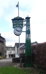The Leyland Clock – Kendal