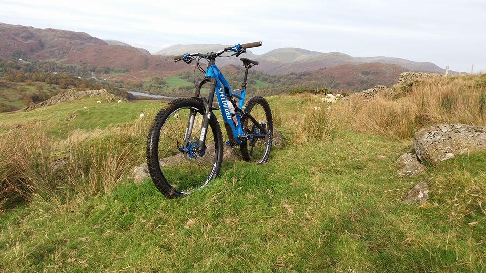 Cycling fun in the Lake District