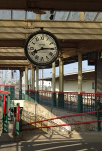 A Famous Clock on Carnforth Station