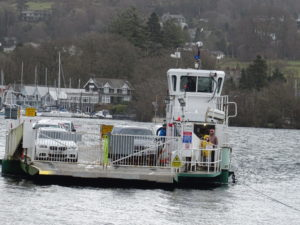 All aboard the Windermere Ferry