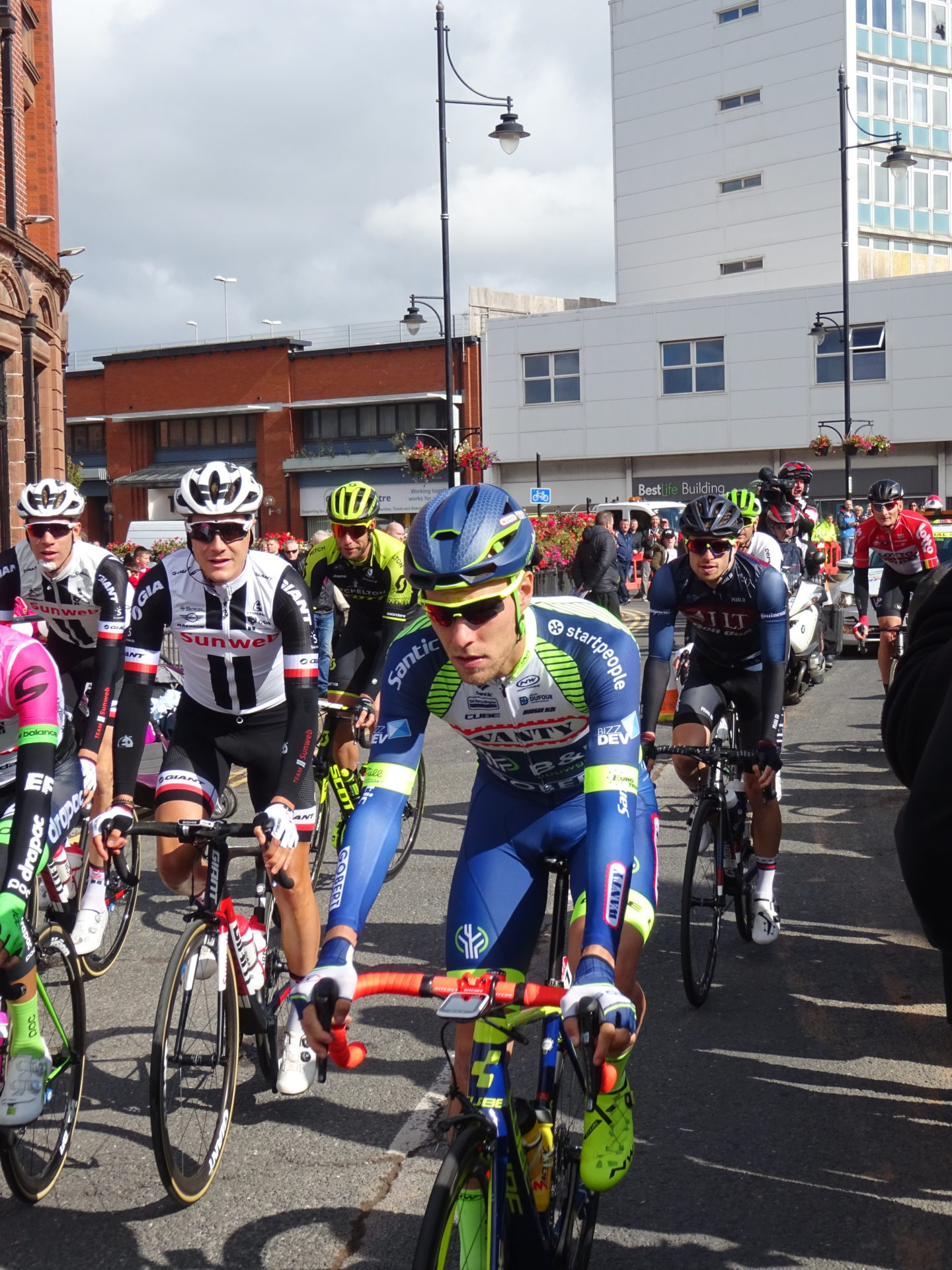 Tour of Britain Cycling Returns to Cumbria