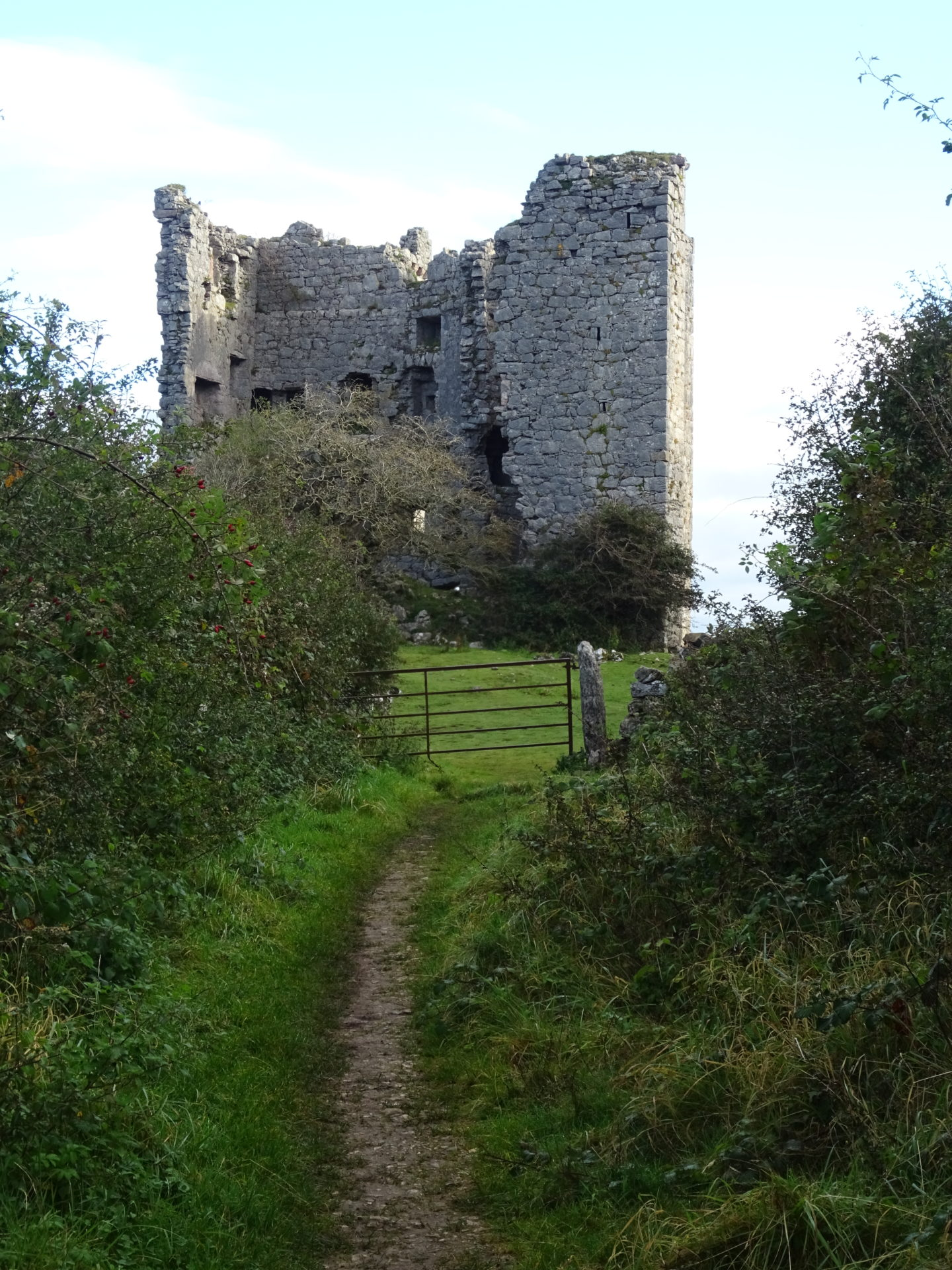 Arnside's Old Walls – 15c Pele Tower