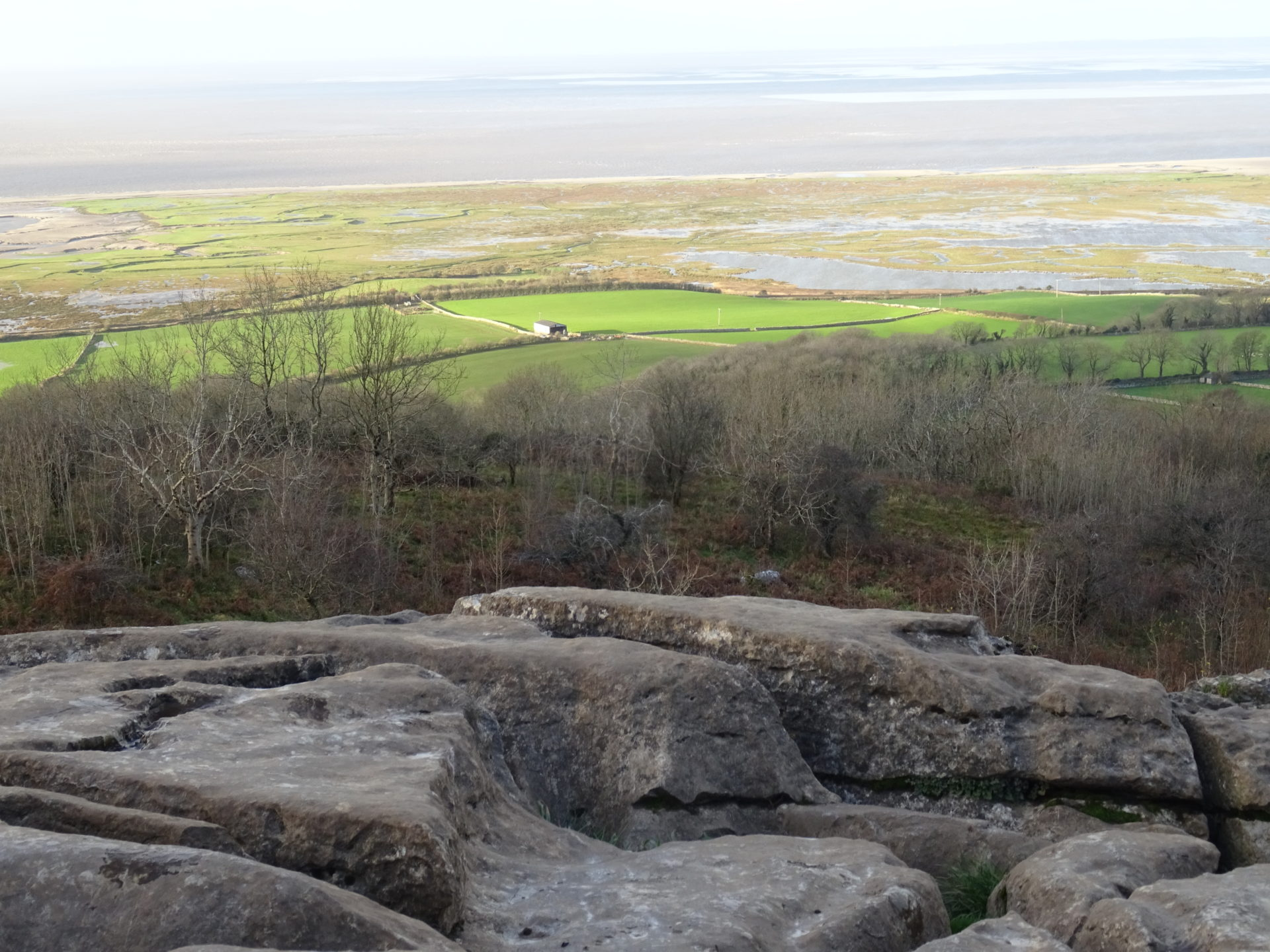 Warton Crag in Limestone Country